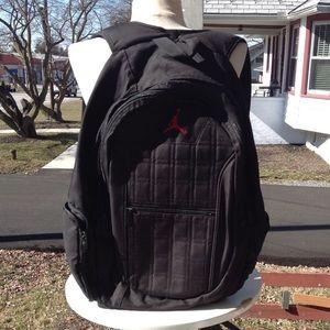 Nike Jordan back pack.